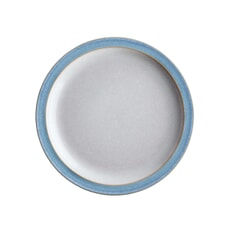 Denby Elements Blue Tea Plate