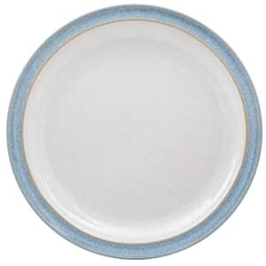 Denby Elements Blue Dinner Plate