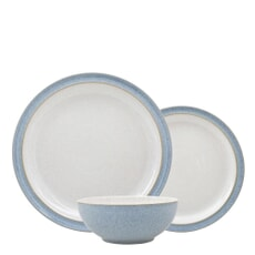Denby Elements Blue 12 Piece Box Set