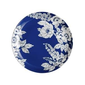 Denby Monsoon Fleur Salad Plate Blue
