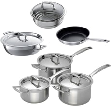 Le Creuset 3 Ply Stainless Steel Professional Chef Set