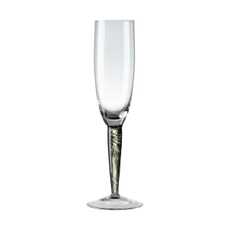 Denby Jet Champagne Flutes Set Of 2