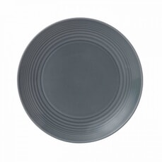 Royal Doulton Gordon Ramsay Maze Dark Grey 22cm Plate