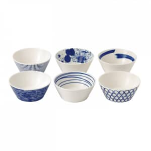 Royal Doulton Pacific Cereal Bowls Set Of 6