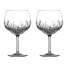 Waterford Lismore Gin Journey Balloon Glass Set Of 2