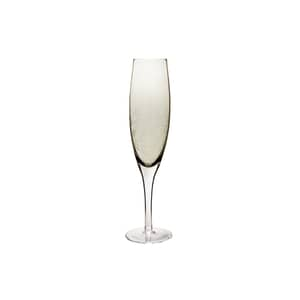 Denby Monsoon Lucille Gold Champagne Glass Set Of 2