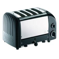 Dualit Classic Vario AWS 4 Slot Toaster Black