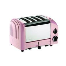 Dualit Classic Vario AWS 4 Slot Toaster Petal Pink