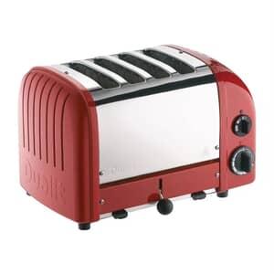 Dualit Classic Vario AWS 4 Slot Toaster Red