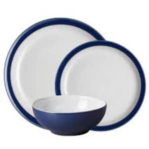 Denby Elements Dark Blue 12 Piece Box Set