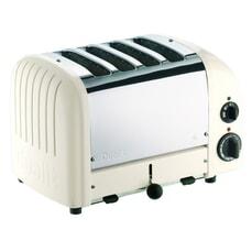 Dualit Classic Vario AWS 4 Slot Toaster Canvas White