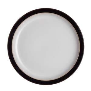 Denby Elements Black Dessert/Salad Plate