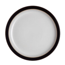Denby Elements Black Dinner Plate