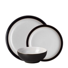 Denby Elements Black 12 Piece Box Set