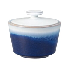 Denby Blue Haze Covered Sugar Bowl