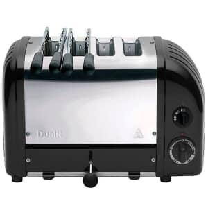Dualit Classic Vario AWS Combi 2x2 Toaster Black 42166