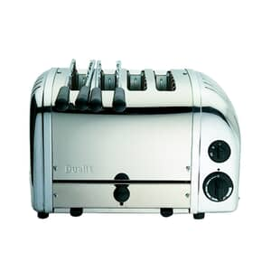 Dualit Classic Vario AWS Combi 2x2 Toaster Polished 42174