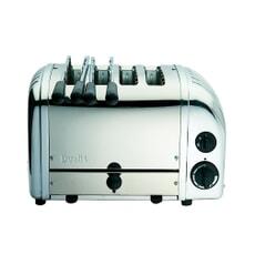 Dualit Classic Vario AWS Combi 2x2 Toaster Polished 42174