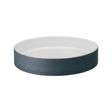 Denby Impression Charcoal Straight Round Tray