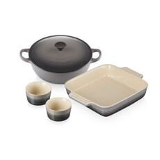 Le Creuset Classic Mixed Cookware Set Flint