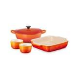 Le Creuset Classic Mixed Cookware Set Volcanic