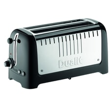 Dualit Lite Long Slot Toaster Black