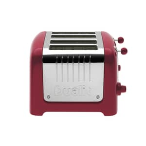 Dualit Lite 4 Slot Toaster Red 46201