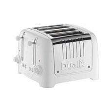 Dualit Lite 4 Slice Toaster White