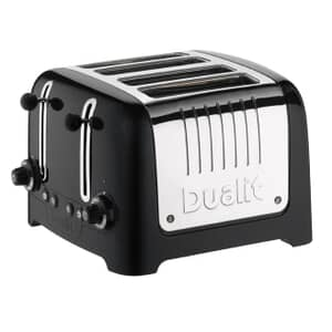 Dualit Lite 4 Slot Toaster Gloss Black 46205