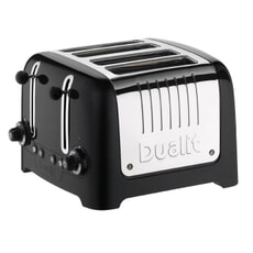 Dualit Lite 4 Slot Toaster Gloss Black