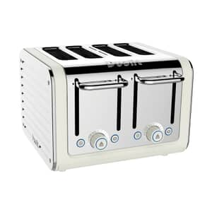 Dualit Architect 4 Slot Toaster Canvas With S/S Panel