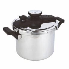 Prestige 6 Litre Twist �n� Lock Stainless Steel Pressure Cooker