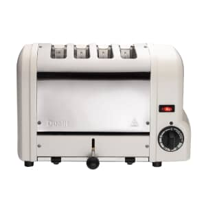 Dualit Origins 4 Slot Toaster Canvas White 47361