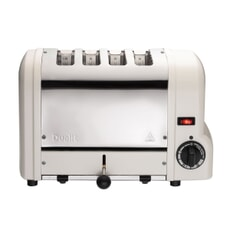 Dualit Origins 4 Slot Toaster Canvas White