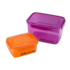 Joe Wicks Storage - 2 Piece Rectangular Container Set