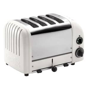 Dualit Classic Vario AWS 4 Slot Toaster Matte Porcelain