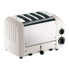 Dualit Classic Vario AWS 4 Slot Toaster Feather