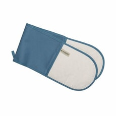 Le Creuset Double Oven Glove Marine