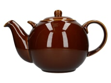 London Pottery Globe� 10 Cup Teapot Rockingham Brown