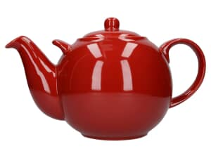 London Pottery Globe® 10 Cup Teapot Red
