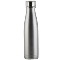 Built 500ml Double Walled Stainless Steel Water Bottle Silver
