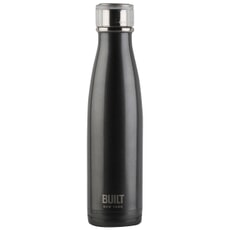 Built 500ml Double Walled Stainless Steel Water Bottle Charcoal