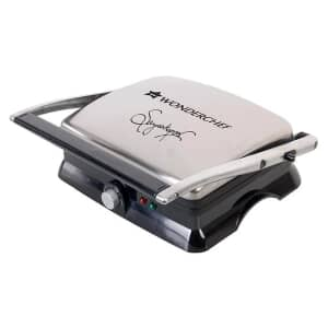 Wonderchef Sanjeev Kapoor Tandoor Family Size Sandwich Toaster