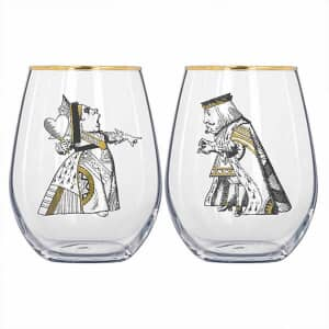 V and A Victoria And Albert Alice In Wonderland Set of 2 Tumblers