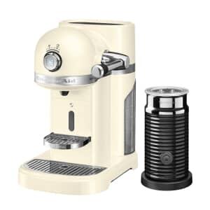 KitchenAid Artisan Nespresso Maker With Aeroccino - Almond Cream