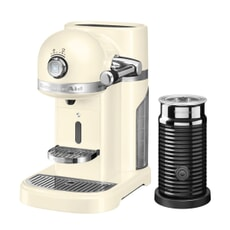 KitchenAid Artisan Nespresso Maker With Aeroccino - Almond Cream