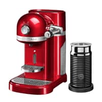 KitchenAid Artisan Nespresso Maker With Aeroccino - Candy Apple