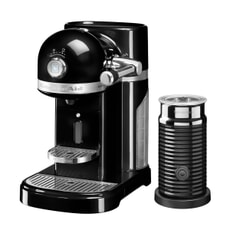 KitchenAid Artisan Nespresso Maker With Aeroccino - Onyx Black