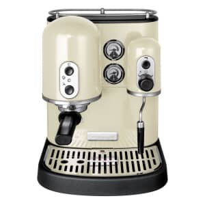 KitchenAid Artisan Espresso Machine Almond Cream
