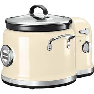 KitchenAid Multi Cooker And Stir Tower Bundle Almond Cream